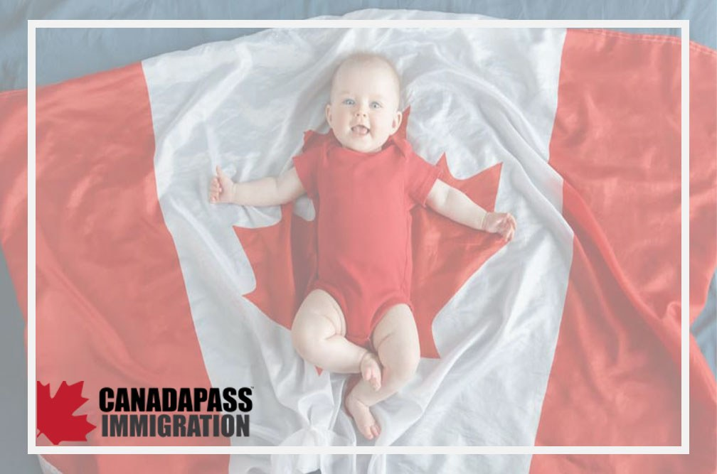 دریافت اقامت کانادا از طریق تولد (قانون خاک)