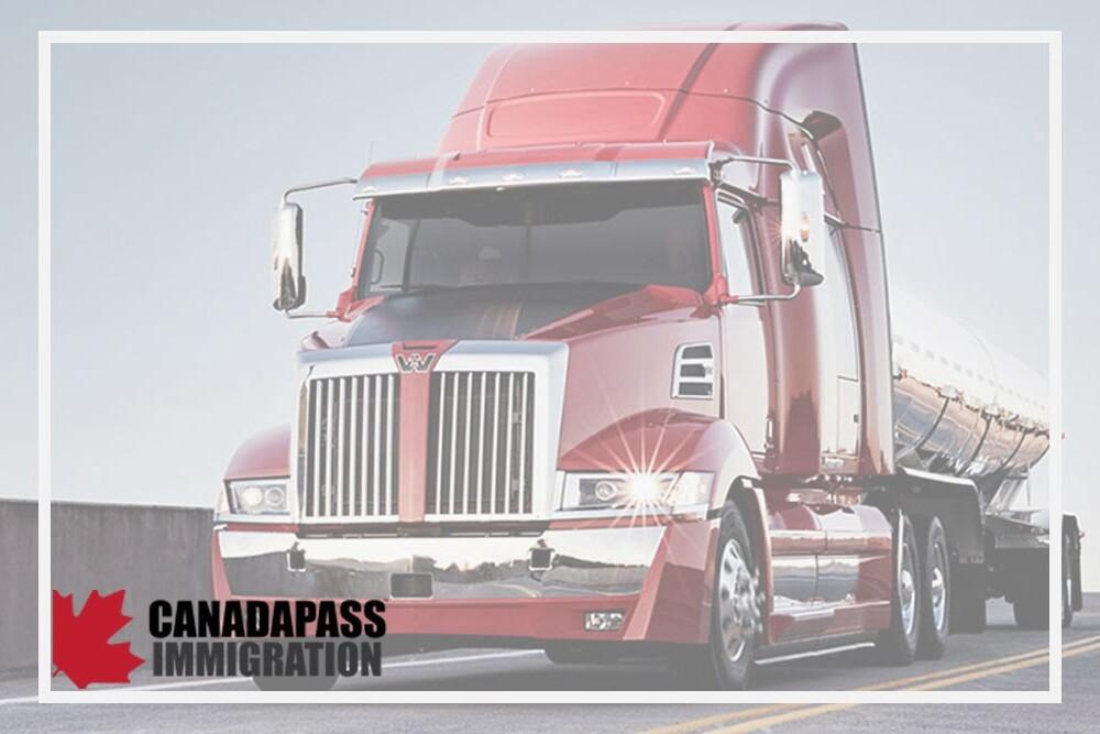 مهاجرت به کانادا به عنوان راننده کامیون
