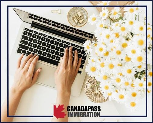 یک کارآفرین موفق در حال کار در کشور کانادا