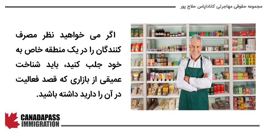 داشتن شناخت عمیق از بازار برای جلب توجه مصرف کنندگان