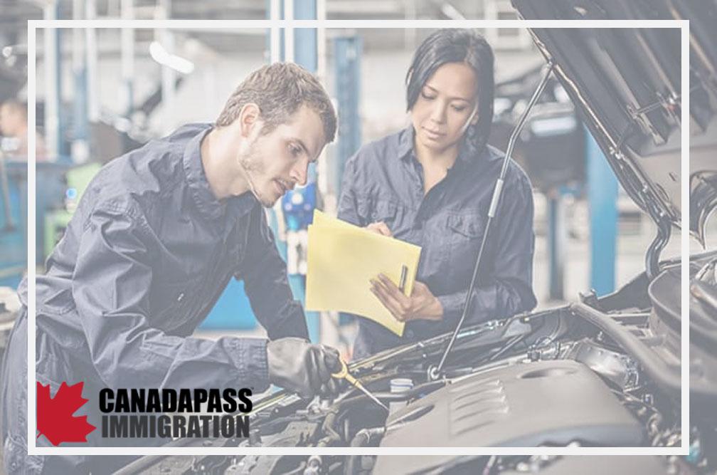 مهاجرت مکانیک خودرو به کانادا