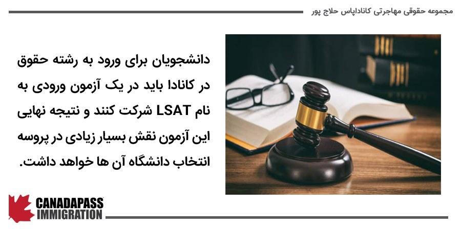 آزمون پذیرش مدارس حقوق (LSAT)